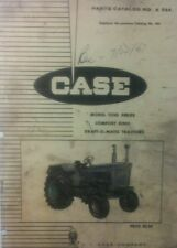 Case 1030 Tractor Parts Manual Comfort King Draft O Matic Farm Agricultural
