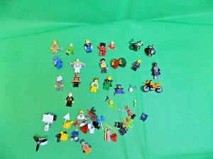Lego Figures x 16 + Other Parts