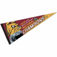Minnesota Duluth Bulldogs 2018 Frozen Four National Champions Pennant