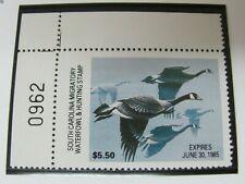 F529 SC 1984 CANADA GOOSE, AL DORNISCH, PNS UL PI #0962 STAMP