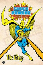 1988 Super Powers DR. FATE Model Art : Justice League