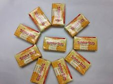 M&L SULPHUR SULFUR BAR SOAP 3.3 OZ. SET OF 10 WITH FREE SHIPPING IN THE U.S.!
