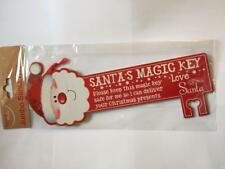 ** SANTAS JUMBO MAGIC KEY KIDS FATHER CHRISTMAS RED NEW ** CHRISTMAS EVE