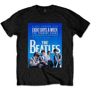 The Beatles 8 Days A Week Poster Official Merchandise T-Shirt M/L/XL - Neu