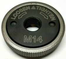 M14 Quick Nut Grinder Clamping Nut Screw Flex 115,125,