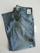 Mens 42 X 30 Lee Light Wash Extreme Motion Regular Fit Bootcut Stretch Jeans