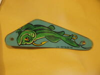 Pinball Flipper plastic Original Williams Fish tales Left Slingshot