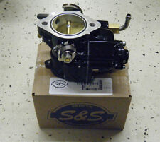 NEW BLACK S&S SUPER E CARBURETOR for HARLEY BIG TWIN & SPORTSTER MODELS