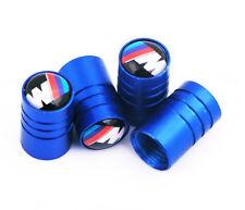BMW Auto Ventilkappen | Blau | 1er 3er 5er 7er X1 X3 X5 X6 M3 M5 M6 | Tuning