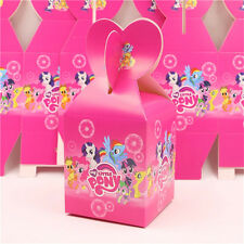 12pcs My little Pony Candy Box Kids Birthday Party Supplies Favors Baby Shower