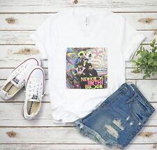 New Kids On The Block Colors V-Neck T-Shirt Tee NKOTB Unisex Shirts - White