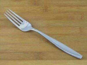 "Oneida Camlynn Dinner Fork 8"" EXC Stainless Flatware Silverware Frosted"
