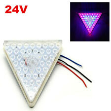 24V Car Trailer Pickup Truck Colorful Flash LED Triangle Tail Lamp Brake Light