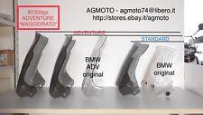 BMW R1200 GS adventure parabrezza maggiorato in altezza nuovo grigio fume'