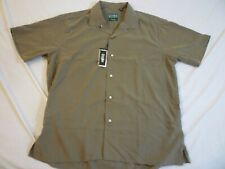 GITMAN BROS VINTAGE Rayon Camp Shirt New With Tags $205 L Made In USA