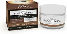 Crema Viso Donna Bava Di Lumaca  Antirughe Antiage ML 50 Made In Italy