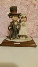 G.Armani Gulliver's World Wedding Magnificent Rare Figurine! Reg.265$
