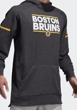 $100 ADIDAS NHL BOSTON BRUINS SQUAD PULLOVER HOODIE JACKET ADULT M JERSEY STYLE