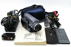 Sony DCR-IP55E camcorder in good condition.