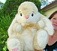 LARGE Dan Dee 2012 Easter Bunny Rabbit SUPER SOFT Plush Stuffed Animal Doll