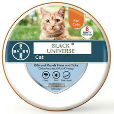 Flea and Tick Collar For Cats - Vet Recommended 8 Month Protection