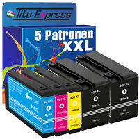 5 Drucker Patronen für HP 950 951 XL Officejet Pro 8600 8610 8615 8620 8630 8640