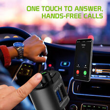 Wireless FM Transmitter, Multi-functional for Cars Hands-Free |Galaxy S9+ Plus