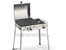 Barbecue Ferraboli, Ghisa Gas COMBINATO Inox Art.093