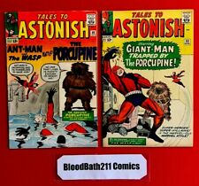 Silver Age Comic Lot. Tales To Astonish #48 & #53! 1st And 2nd App Of Porcupine!