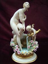 Porcellane di Giuseppe Cappè. Venere al Bagno.