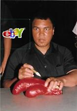 MUHAMMAD ALI at Autograph Show - 4 original 4x6 color photos-1992