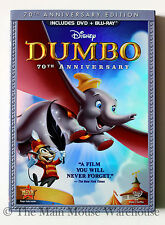 Dumbo Classic Disney Animated Masterpiece DVD & Blu-ray w/ Reflective Slipcover