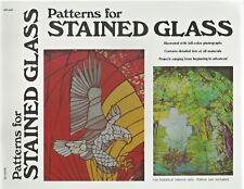Patterns for Stained Glass James E. Gick Vintage Booklet 70's HP-602 70's NEW