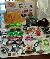 Unbored Disguises Identity Changing Fun Activity Kit Extras 50 Plus Items Gift