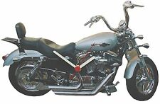 Lark Rise Designs Harley Davidson Wooden Wall Clock LRDHD1