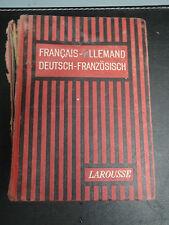 Ancien Dictionnaire Français-Allemand - 1932