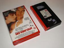 VHS Video ~ No Way Out ~ Kevin Costner ~ Large Case Ex-Rental ~ RCA/Columbia