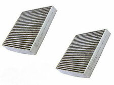 2x Activated Carbon Charcoal Cabin Air Filter for Toyota 87139-YZZ08 87139-YZZ10