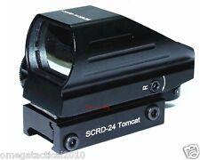 Vector Optics Tactical Tomcat 1x22x33 Multi Reticle Compact Red Green Dot Sight