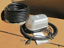 Medium Pond air diffusion AERATION / AERATOR SYSTEM 50ft WEIGHTED Hose,Diffuser!