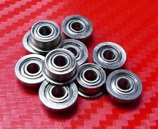 25pcs MF63zz (3x6x2.5mm) Metric Metal FLANGE Ball Bearing 3*6*2.5 MF63z