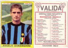 FIGURINA PANINI 1966 1967 , INTER , ANGELO DOMENGHINI  , PERFETTA  , -A82
