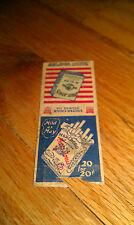 MARLBORO Mild As May/PAUL JONES Blended Cigarettes RARE used Vintage Matchbook
