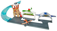 Disney Planes Propwash Junction Airport Playset with Dusty Crophopper NEW