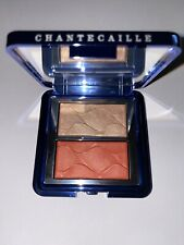 Chantecaille Radiance Chic Cheek and Highlighter Duo Coral Bnib Manta Ray Blush