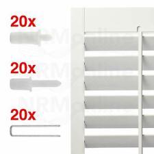 PLANTATION SHUTTER REPAIR KIT 60 PCS 3 X 20 pcs retractable louvre pins tilt rod