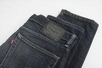 LEVI STRAUSS & CO. 511 Men's W33/L32 Skinny Tapered Stretchy Jeans 25207-JS