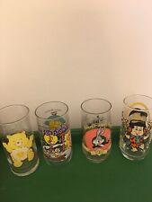 Vintage Cartoon Lot Glass
