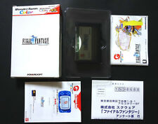 FINAL FANTASY II (2) - WonderSwan Color Good Condition !