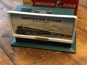 American Flyer No.568 Whistling Billboard with Control Button & Box